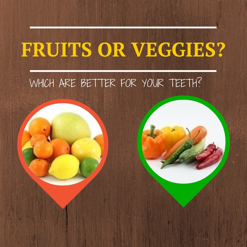 fruit veggie dental health