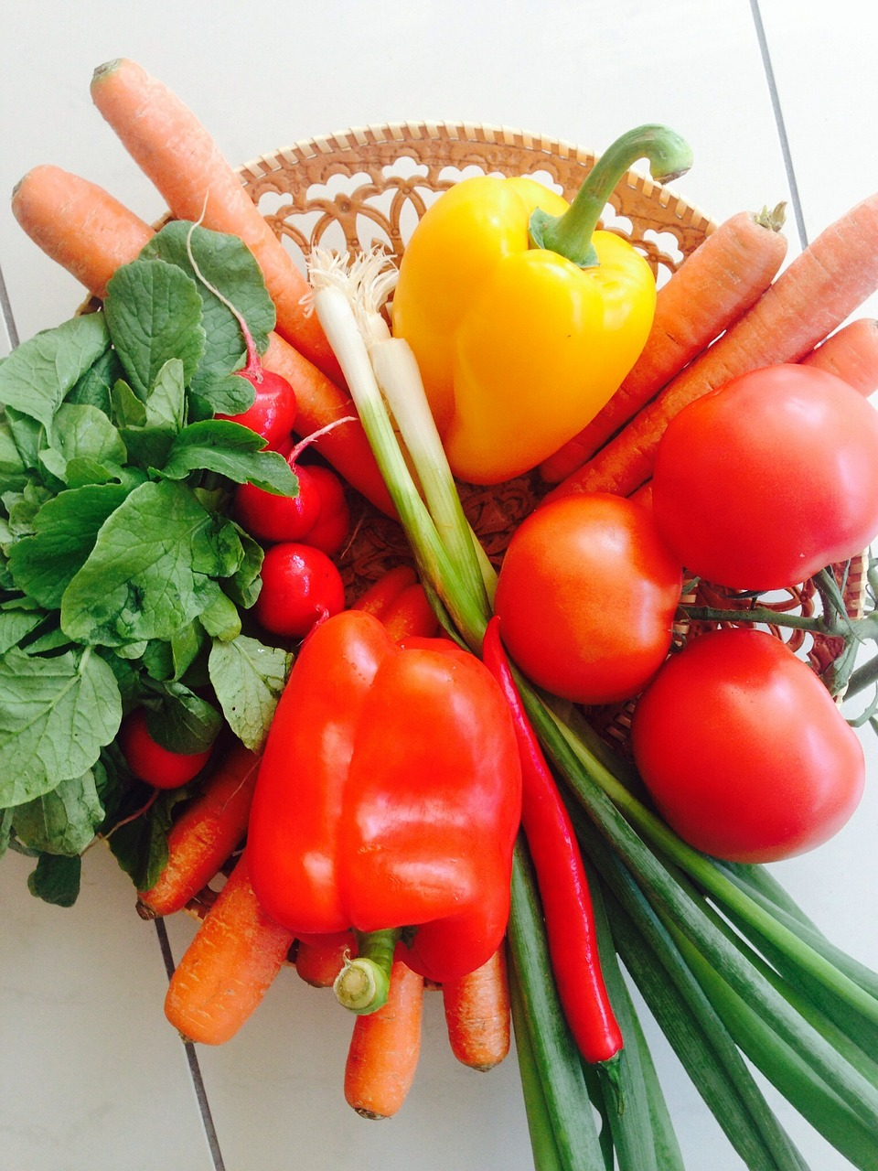 Vegetables can actually help whiten your teeth.